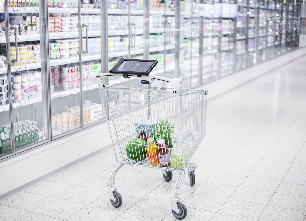 Smartcart Portfolio Website - A technology retail startup